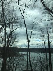 Mountain Top View Of A Lake