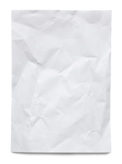 uneven sheet of paper