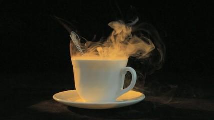 mug with steam