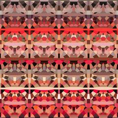 abstract geometric pattern backdrop  in orange pink