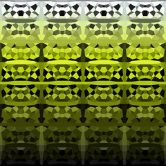 abstract geometric pattern backdrop  in green black white
