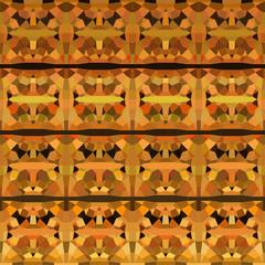 abstract geometric pattern backdrop  in orange yellow
