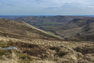 The view off Kinder Scout