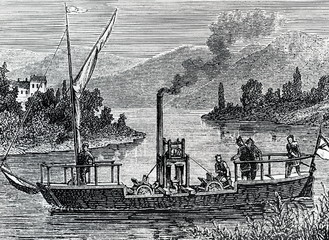 The Canal Steamboat (Symington, 1789)