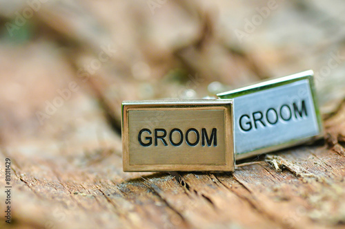 Engraved wedding cufflinks - 81011429