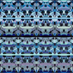 abstract geometric pattern backdrop in blue purple lavender