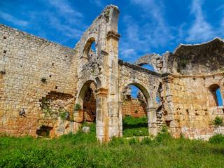 Turkey/mersin/kanli divane/ ancient rome city