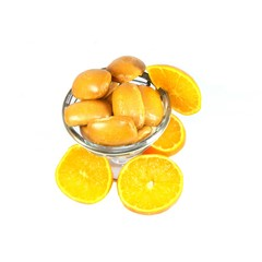 biscuits fourrés à l'orange