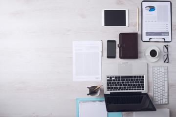 Businessman's desktop
