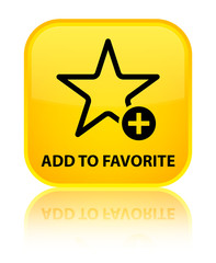 Add to favorite yellow square button