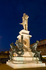 """The """"Monument of the Four Moors"""" in Leghorn"""