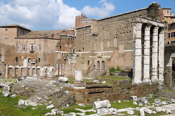 archaeological site in the city of Rome