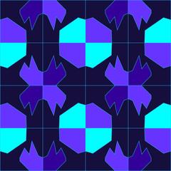 Vector illustration of a bright dark background