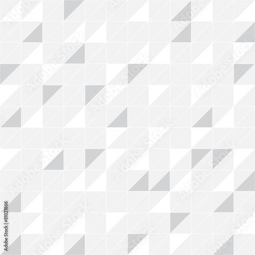 Triangle background, seamless pattern, gray - 81021866