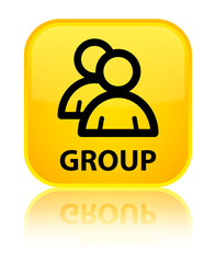 Group yellow square button