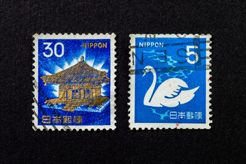 Post stamps of Japan