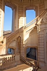 scalone elicoidale, Certosa di San Lorenzo - Padula