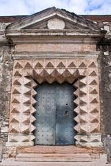 A doorway of Buonconsiglio Castle, Trento