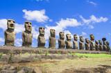 Moais of Ahu Tongariki, Easter island (Chile) - Fine Art prints