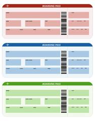 Three plane tickets