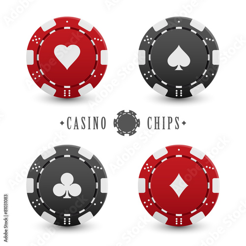 Card suit casino chips - 81031083