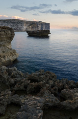 Shore near Azure Window, Gozo, Malta