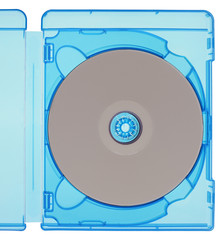 Bluray disc isolated