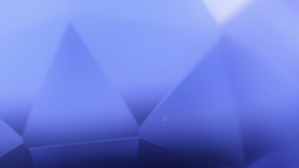 Crystal glass. Abstract background. 4K UHD