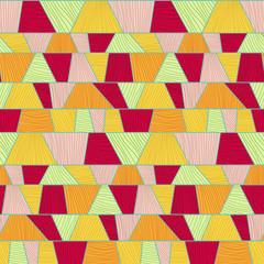 Abstract mosaic pattern. Seamless vector..