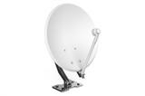 Satellite dish isolated on white background