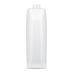 Mock Up Juice Milk Carton Packages