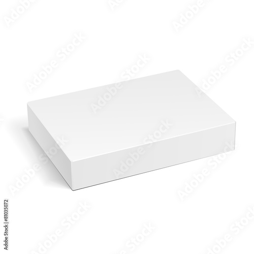 White Product Cardboard Package Box - 81035072