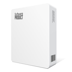 Modern Software Package Box