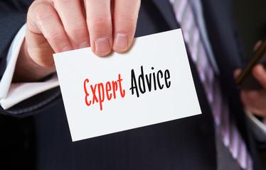 Expert Advice, Advice Concept.