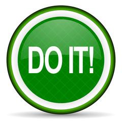do it green icon