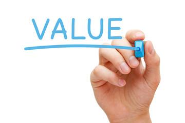 Value Blue Marker