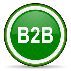 b2b green icon