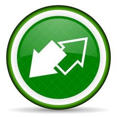 exchange green icon