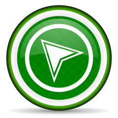 navigation green icon