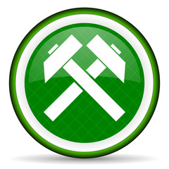 mining green icon