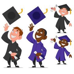 Set of graduates