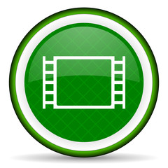 movie green icon