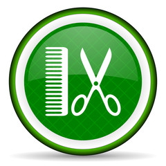 barber green icon