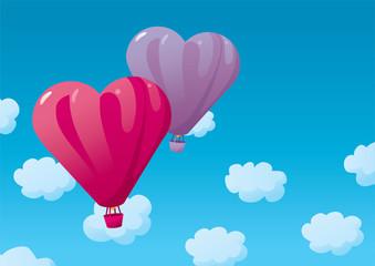 Valentine's ballons
