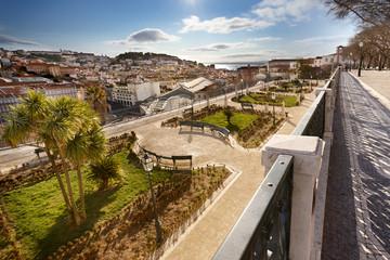 Miradouro São Pedro de Alcântara Lisboa Portugal