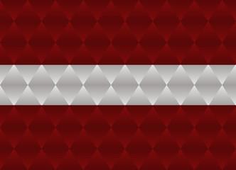 latvia low poly flag