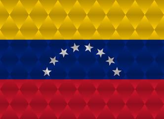 venezuela low poly flag