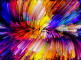 Fototapety Visualization of Digital Color