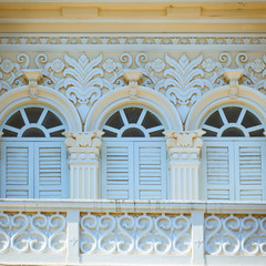 Chino-Portuguese style architecture in Phuket