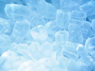 Close-up of glistening ice